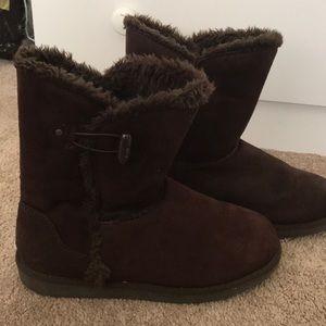 Airwalk Short Chocolate Brown Boots